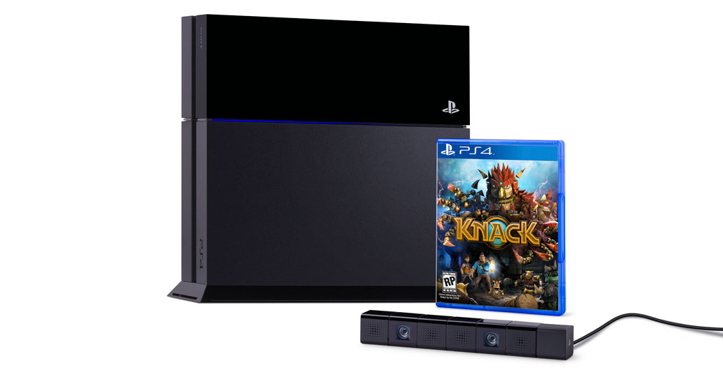 Leaked PS4 Bundle including the Camera and Knack Game