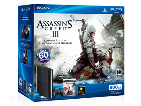 PlayStation®3 Assassin's Creed® III Bundle