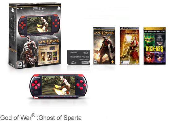 God of War®: Ghost of Sparta PSP®Entertainment Pack