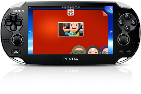 PS Vita System Party Application